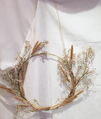 Suspension fleurs séchées