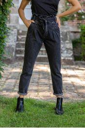 Jeans artus gris